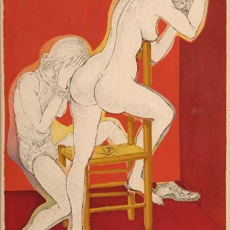 Salvador Dali оригинал  картина Сальвадор Дали
