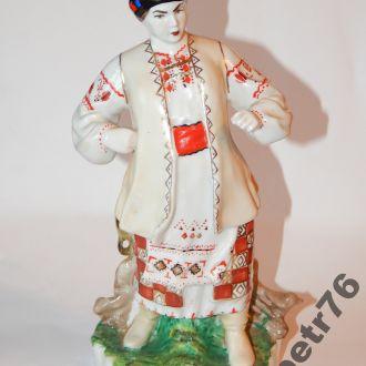 статуэтка фарфор ссср ОДАРКА