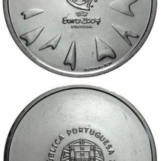 Португалия 8 евро 2004  Футбол  серебро