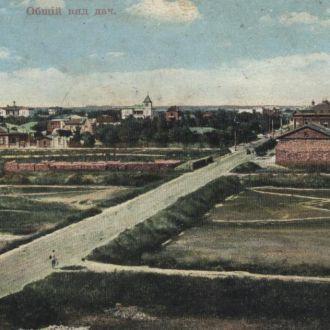 Евпатория Общий вид дач до 1917 г.