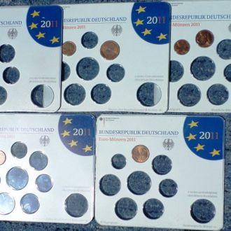 Німеччина набір ЄВРО 2011 рік.