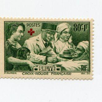 ФРАНЦИЯ 1940 ** МЕДИЦИНА КРАСНЫЙ КРЕСТ