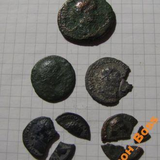 Подборка монет Древнего Рима: имп. Гордиан III и д