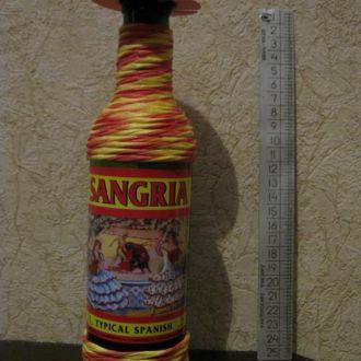 Бутылка в коллекцию или для интерьера №18