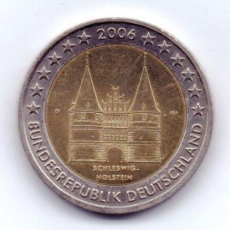 Німеччина 2 евро 2006р. Шлезвиг-Гольштейн D