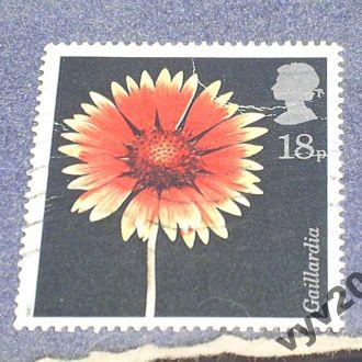 Англия-1987 г.-Цветок