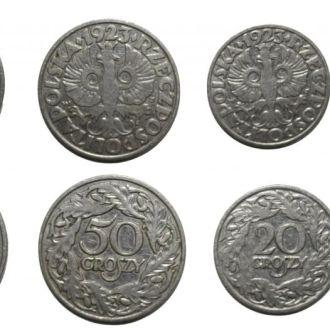 Польша Набор 1923 - 1929