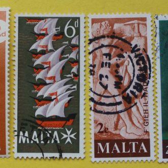 Британские колонии.  Мальта.Подборка.
