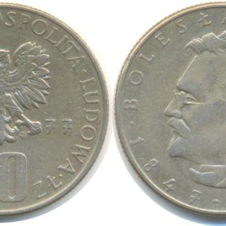Польша 10 злотых 1977