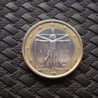 Италия 1 Евро.2008г.
