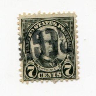 США 1922  ГАШЕНИЕ