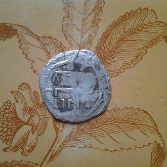 Куфический дирхем, 600-800 года.Серебро