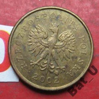 ПОЛЬША 1 грош 2002 г.
