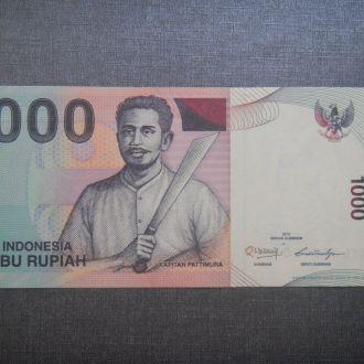 Индонезия 1000 рупий / Rupiah 2011 UNC