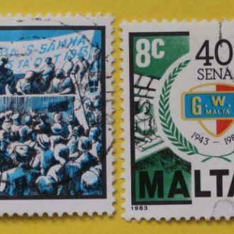 Британские колонии.  Мальта.
