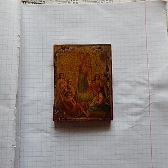 Икона Всех Скорбящих Радость академическое письмо