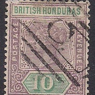 БРИТ. КОЛОНИИ BRIT. HONDURAS 1895 11 ЕВРО