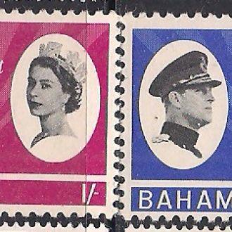 БРИТ. КОЛОНИИ BAHAMAS БАГАМЫ 1966 MLH 3.8 ЕВРО