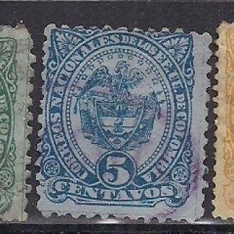 КОЛУМБИЯ 1883  4,5 ЕВРО