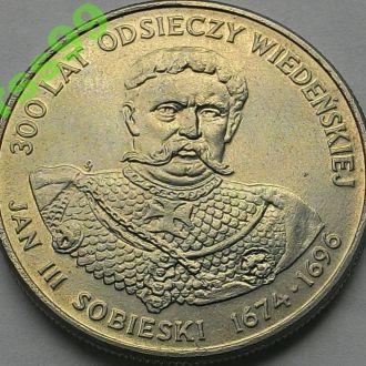Польша 50 злотых 1983 год Ян Собенский