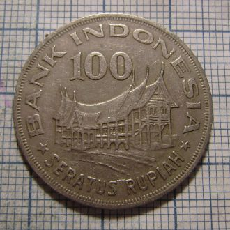 Индонезия, 100 рупий 1978  г.
