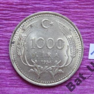 ТУРЦИЯ, 1000 лир 1994 г.