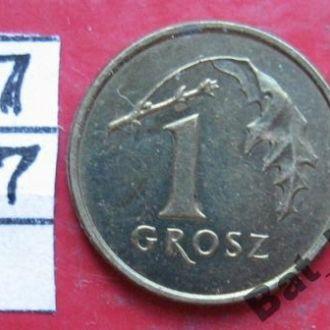 ПОЛЬША, 1 грош 1999 года.