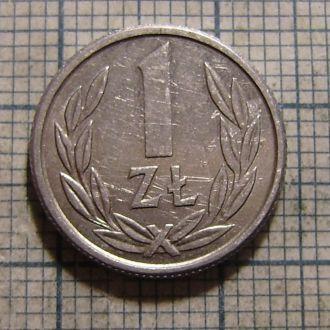 Польша, 1 злотый 1989