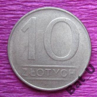 ПОЛЬША, 10 злотых 1987 г.