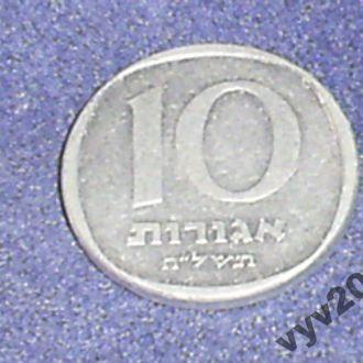 Израиль-1978 г.-10 агор