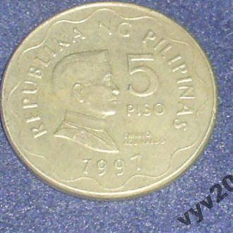 Филиппины-1997 г.-5 писо