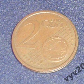 Италия-2002 г.-2 цента