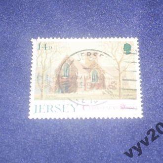 Джерси-1990 г.-Рождество