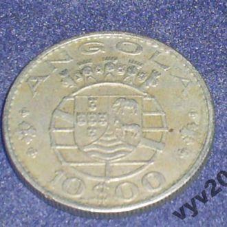 Португальская Ангола-1970 г.-10 эскудо