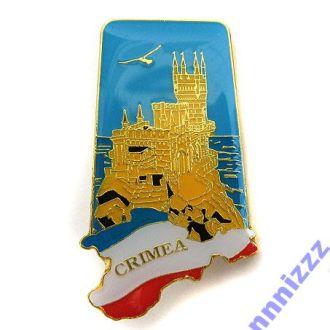 Значок Крым, В наличии!