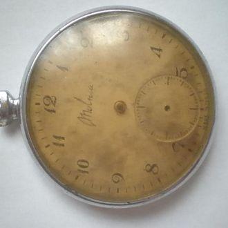 карманные часы Молния тонкие плоские 1