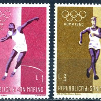 Сан Марино. Олимпиада * 1960 г.