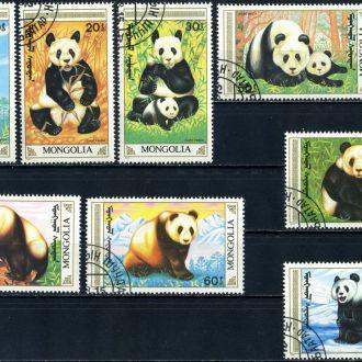 Монголия. Медведи (серия) 1990г.