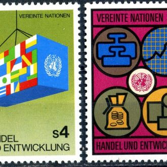 ООН (Вена). Символика (серия) ** 1983г.