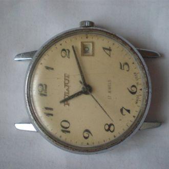 часы ПОЛЕТ интересная модель идут 20042