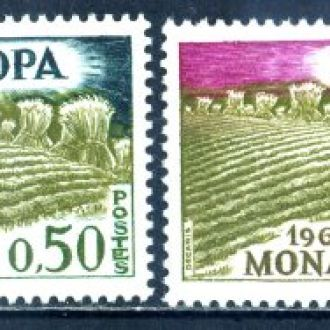 Монако. Европа (серия)** 1962 г.