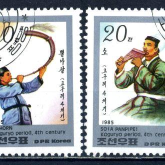 КНДР. Муз. инструменты (серия) 1985 г.