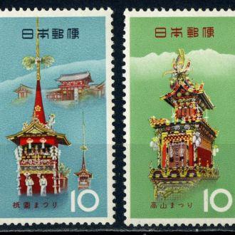Япония. Архитектура (серия) ** 1964 г.