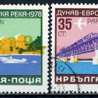 Болгария. Транспорт (серия) 1978 г.