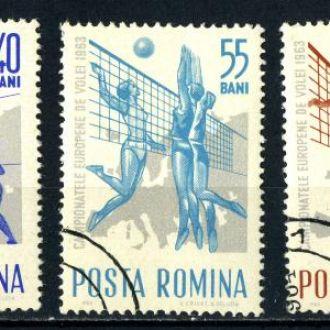 Румыния. Волейбол (серия) 1963 г.
