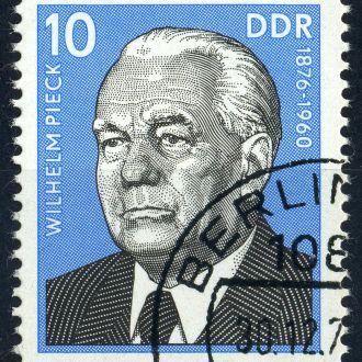 ГДР.  В. Пик (серия) 1975 г.