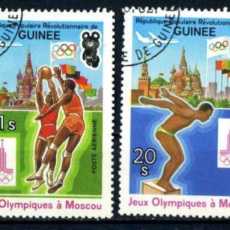 Гвинея. Олимпиада (авио) 1982 г.