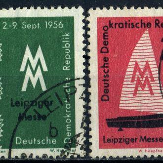 ГДР. Выставка (серия) 1956 г.