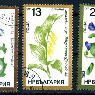 Болгария. Цветы. 1982 г.