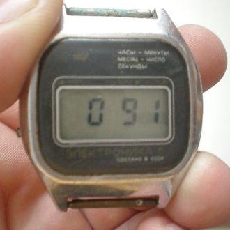 часы Электроника рабочие 25
